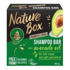 """NATURE BOX kietasis šampūnas """"Avocado"""", 85g"""