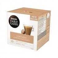 Nescafe kavos kapsulės Dolce Gusto Cortado Espresso Macchiato, 16 kapsulių, 100g