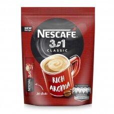 NESCAFE CLASSIC 3in1 kavos gėrimas (maišely 20*16,5)