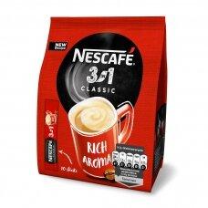 NESCAFE CLASSIC kavos gėrimas 3in1 (maišelyje,10*17,5)
