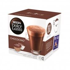 Nescafe karšto šokolado kapsulės Dolce Gusto Chococino, 16 kapsulių, 256g