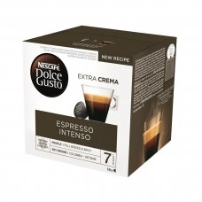 Nescafe kavos kapsulės Dolce Gusto Espresso Intenso, 16kapsulių, 112g