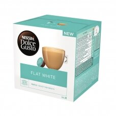 Nescafe kavos kapsulės Dolce Gusto Flat White, 16 kapsulių, 187.2g
