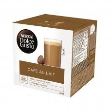 Nescafe kavos kapsulės Dolce Gusto Cafe Au Lait, 16 kapsulių, 160g