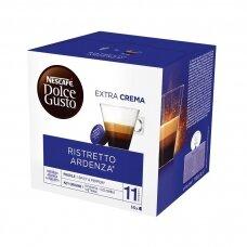 Nescafe kavos kapsulės Dolce Gusto Ristretto, 16 kapsulių, 112g