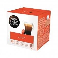 Nescafe kavos kapsulės Dolce Gusto Lungo, 16kapsulių, 104g