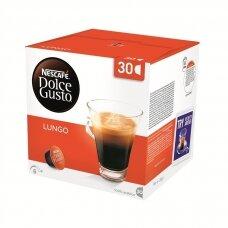 Nescafe kavos kapsulės Dolce Gusto Lungo, 30 kapsulių, 195g