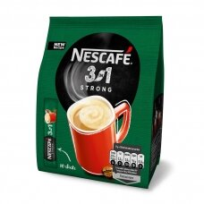 NESCAFE STRONG kavos gėrimas 3 in1, (maišely 10*18g)