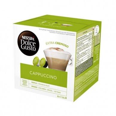 Nescafe kavos kapsulės Dolce Gusto Cappuccino, 16 kapsulių, 200g