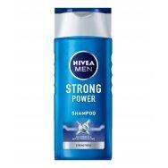 "NIVEA MEN vyriškas šampūnas ""Strong Power"", 250ml"