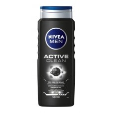 "NIVEA MEN dušo želė vyrams ""Active Clean"", 500ml"
