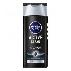"""NIVEA MEN vyriškas šampūnas """"Active Clean"""", 250ml"""
