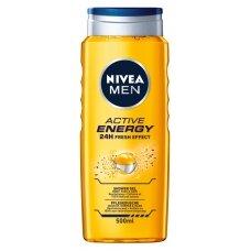 NIVEA MEN ACTIVE ENERGY dušo želė vyr.500ml