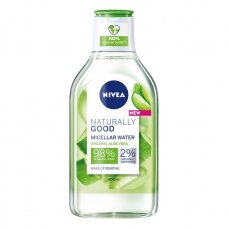 NIVEA NATURALLY GOOD micelinis vanduo, 400ml