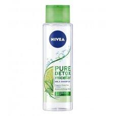 """NIVEA micelinis šampūnas su žaliąja arbata ir laimu """"Pure Detox"""", 400ml"""