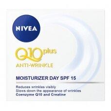 NIVEA Q10+ dieninis kremas nuo raukšlių, 50ml