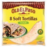 OLD EL PASO minkštos kvietinės tortilijos 8vnt, 326g