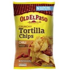 OLD EL PASO tortilijų traškučiai su čili, 185g