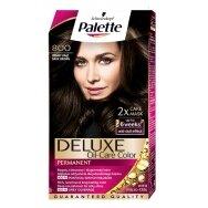 """PALETTE DELUXE dažomasis plaukų kremas Nr.800 """"Tamsus rudas"""""""