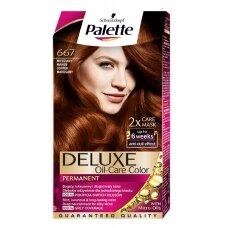 """PALETTE DELUXE dažomasis plaukų kremas Nr.667 """"Raudonmedis"""""""