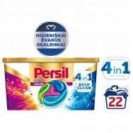 "PERSIL skalbimo kapsulės ""DISCS Color"", 22 skalbimams"