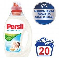 "PERSIL skalbimo gelis ""Sensitive"" 20 skalbimų, 1L"