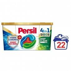 """PERSIL skalbimo kapsulės """"DISCS Malodor Color"""", 22 skalbimams"""