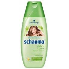 SCHAUMA 7 HERBS šampūnas normaliems/riebaluojantiems plaukams, 250ml