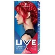 """SCHWARZKOPF LIVE plaukų dažai """"Raudona"""" 092"""