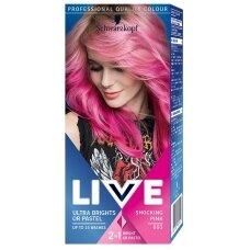 """SCHWARZKOPF LIVE plaukų dažai Nr. 092 """"Rožinė"""""""