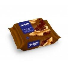 SELGA šokoladiniai vafliai  ,180g