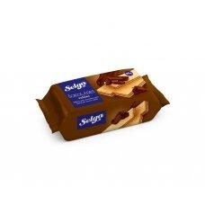SELGA šokoladiniai vafliai, 90g
