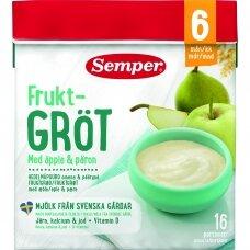 SEMPER košė su obuoliais, kriaušėmis 6 mėn., 480 g
