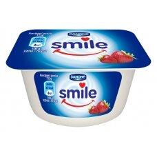 SMILE jogurtas braškių skonio, 115g