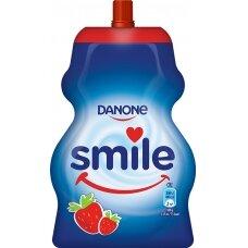 SMILE pouch jogurtas braškinis, 65g