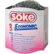 SOKE metaliniai šveistukai Economic, 3 vnt