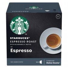Starbucks Dolce Gusto Espresso kapsulės 12cap 66g