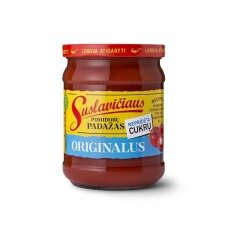 """SUSLAVIČIAUS pomidorų padažas """"Originalus"""", 490g"""