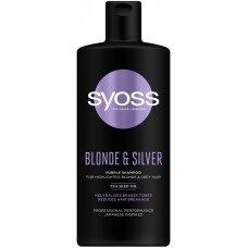 SYOSS Blonde & Silver šampūnas, 440ml