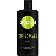 SYOSS Curls & Waves šampūnas, 440ml