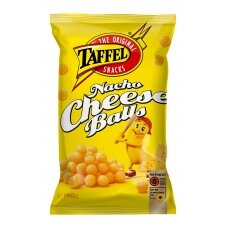 TAFFEL NACHO CHEESE BALLS kukurūzų trašk., 190 g