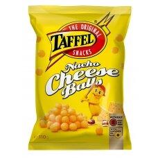 TAFFEL NACHO CHEESE BALLS kukurūzų traškučiai, 110 g