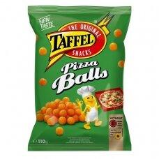 TAFFEL PIZZA BALLS kukurūzų traškučiai, 110g