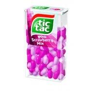 TIC TAC saldainiai braškių mix, 49g