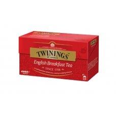 TWININGS Juodoji arbata ENGLISH BREAKFAST 25X2g, 50g