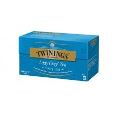 TWININGS Juodoji arbata LADY GREY 25X2g, 50g