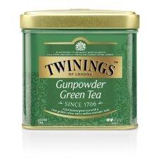 TWININGS Žalioji arbata GUNPOWDER 100g